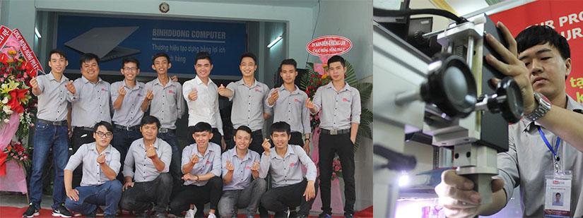 Sửa máy tính tại nhà kcn Đồng An