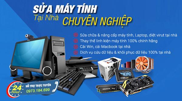 Sửa máy tính tại nhà kcn Tân Đông Hiệp B