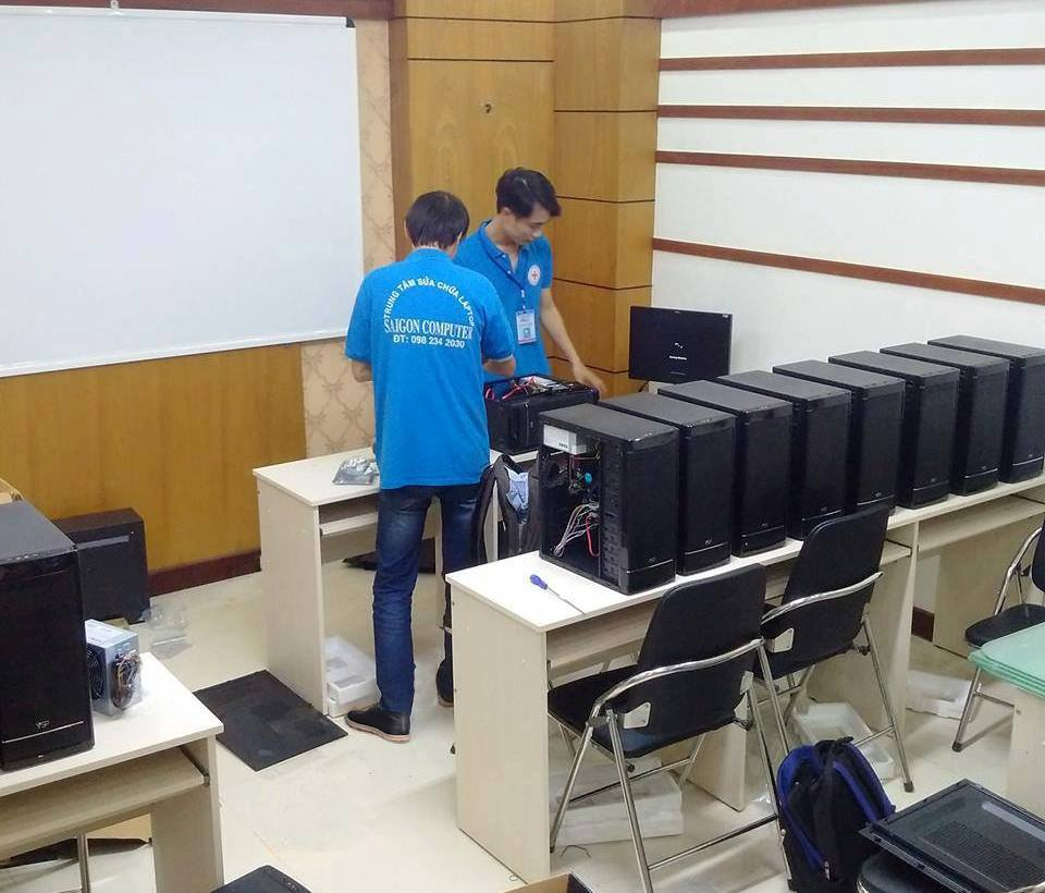 Bảo trì máy tính văn phòng HCM