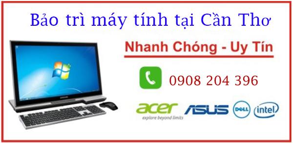 Dịch vụ bảo trì máy tính văn phòng tại Cần Thơ