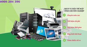 Bảo trì máy tính văn phòng tại Bà Rịa Vũng Tàu