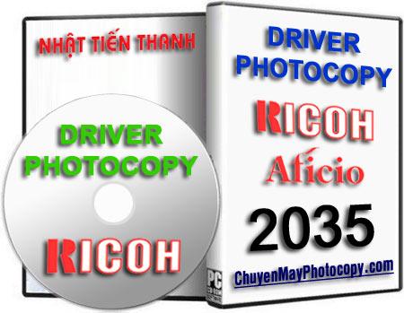 Download Driver Photocopy Ricoh Aficio 2035