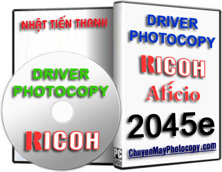Download Driver Photocopy Ricoh Aficio 2045e