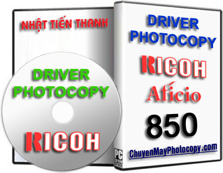 Download Driver Photocopy Ricoh Aficio 850 / 1050