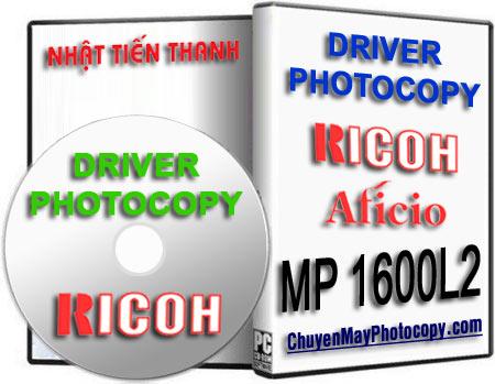 Download Driver Photocopy Ricoh Aficio MP 1600L2 / 1600 L2