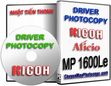 Download Driver Photocopy Ricoh Aficio MP 1600Le / 1600 Le