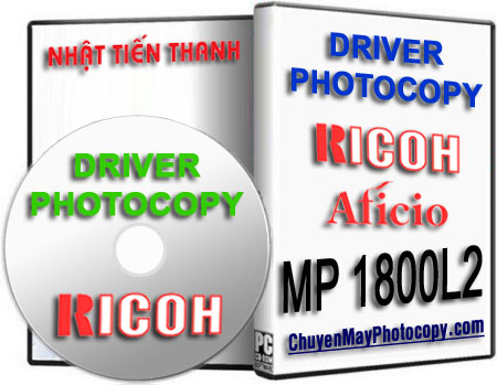 Download Driver Photocopy Ricoh Aficio MP 1800L2