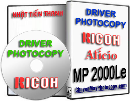 Download Driver Ricoh Aficio MP 2000Le / 2000 Le