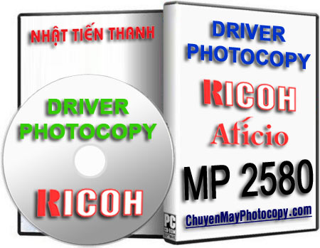 Download Driver Photocopy Ricoh Aficio MP 2580