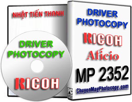 Download Driver Photocopy Ricoh Aficio MP 2352SP