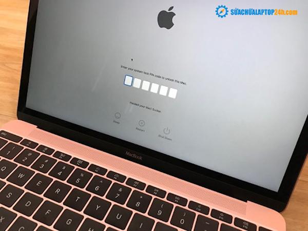 Cách cài firmware password cho Macbook