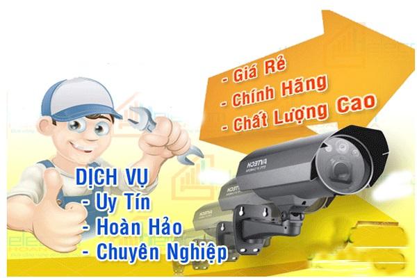 Lắp camera an ninh tại Thuận An
