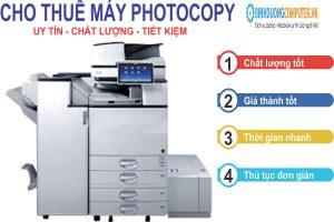 Cho thuê máy photo tại Thuận An
