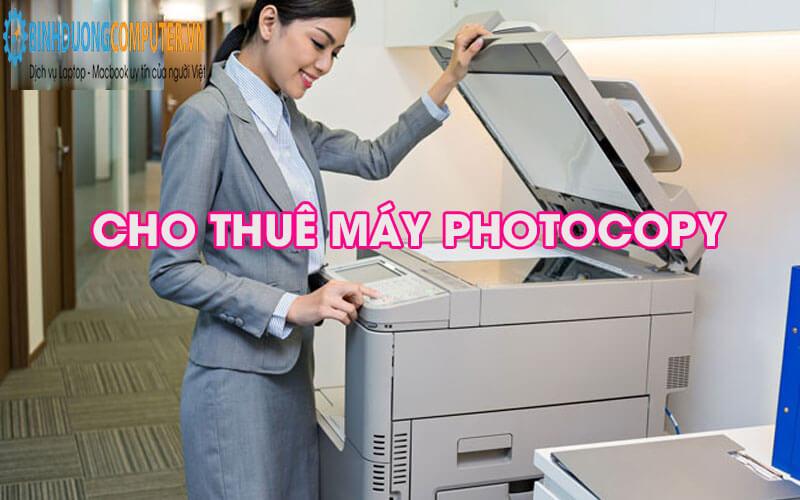 Cho thuê máy photocopy giá rẻ tại Thuận An